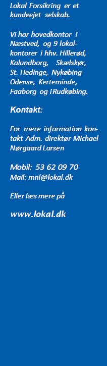 lokal forsikring kontakt